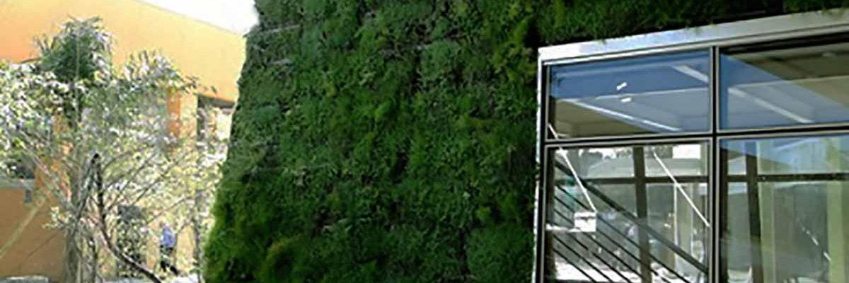 Jardin Vertical con Modulo Eotelhado