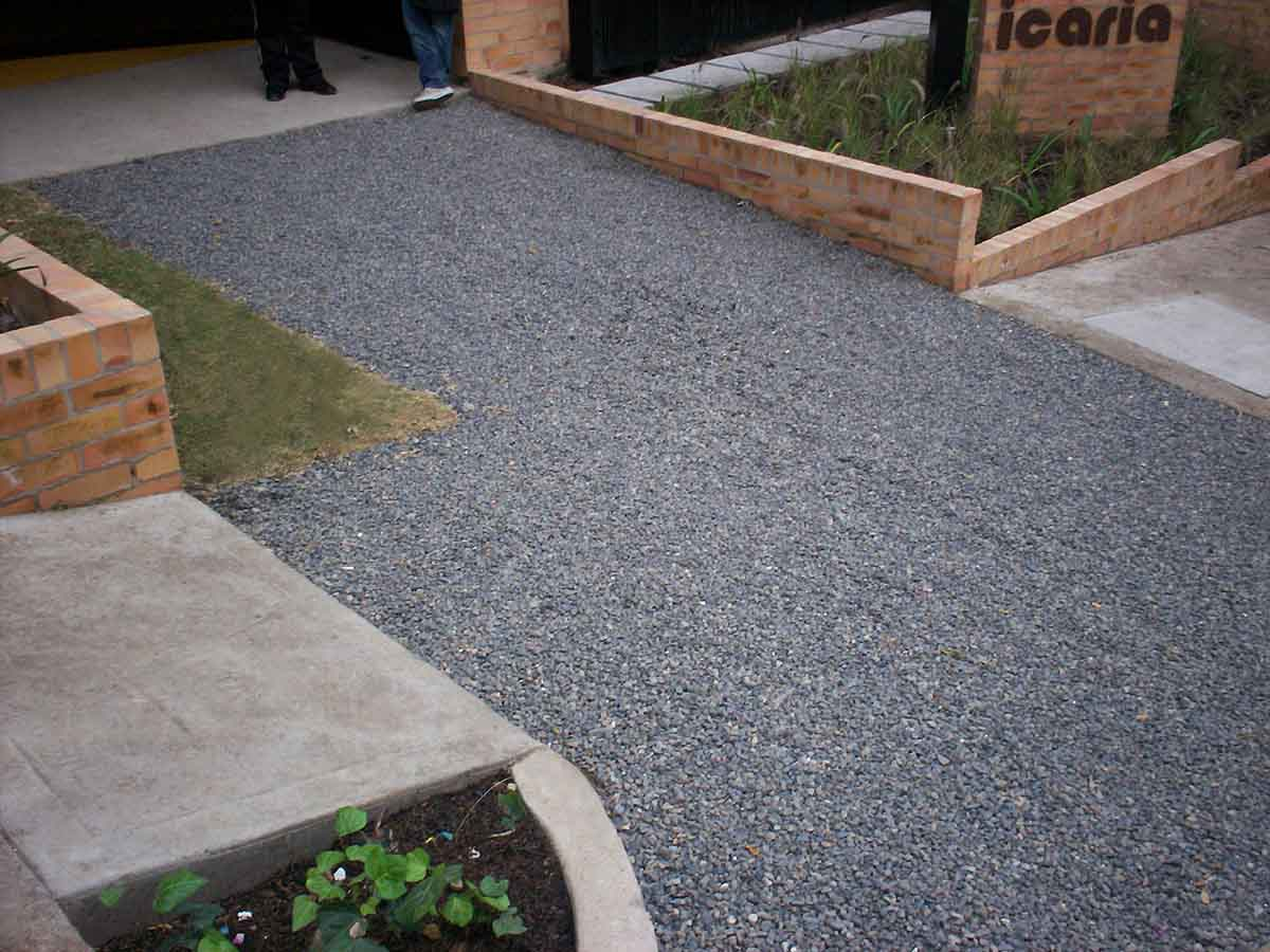 Pavimento permeable