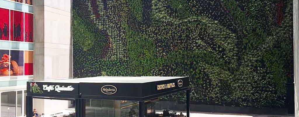 jardines verticales bogota
