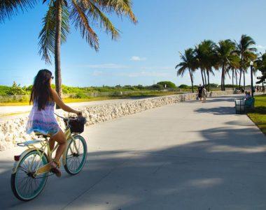 ciclistas en miami